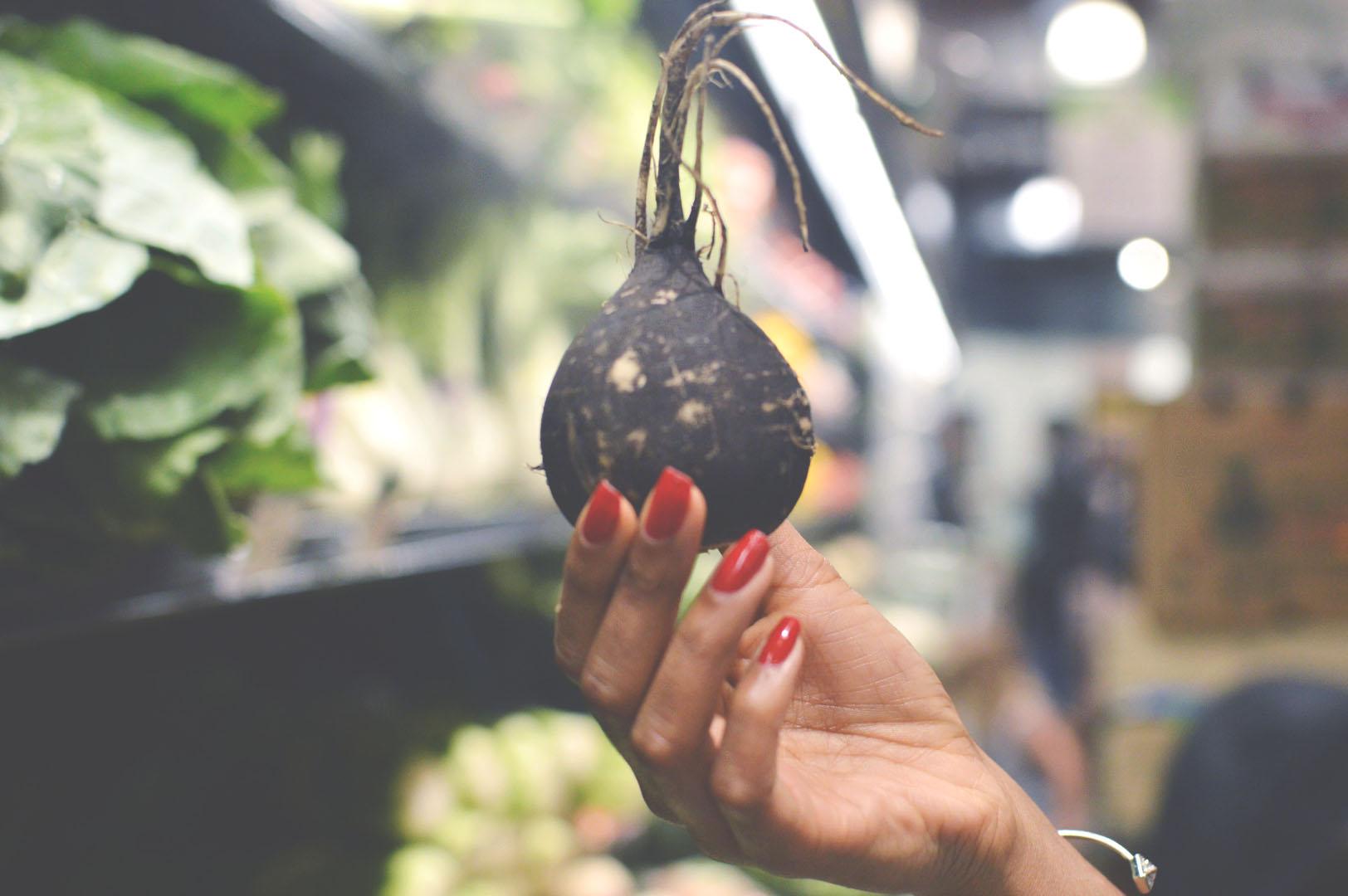 black turnip