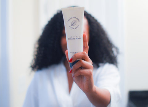 Christina Moss cleanser | liveloveblu